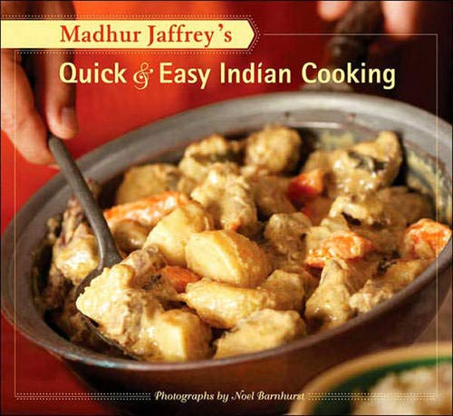 Madhur Jaffrey's Quick & Easy Indian Cooking (Best Authentic Indian Cookbook)