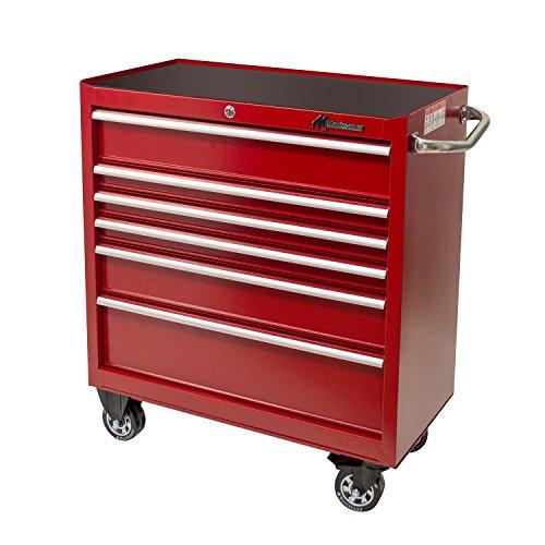 Montezuma MTZRR3606TCPR 6-Drawer Roller Cabinet Toolbox by Montezuma