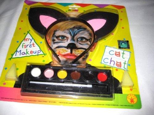 Rubie's Costume My First Makeup Kit with Ears Headband, Cat, One Size (Cat Costume Makeup Kit)