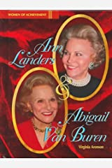 Ann Landers and Abigail Van Buren (Women of Achievement) Library Binding