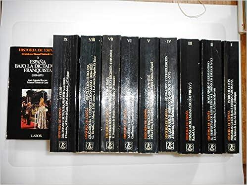 Historia de España. obra completa: Amazon.es: Tuñon De Lara: Libros