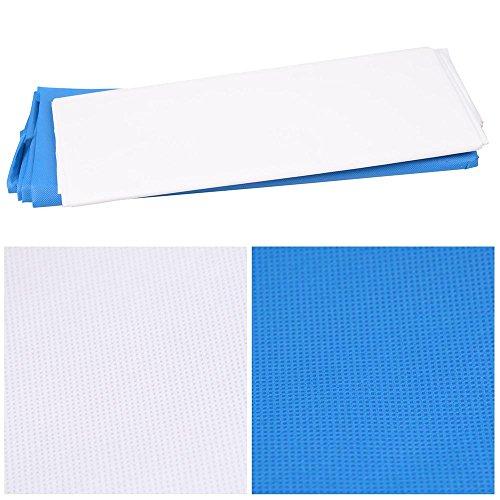 AW Portable Flat Clothing Photography Kit w/Backdrop 2X 45W Bulb 2X 33 Translucent White Umbrella Set by AW (Image #7)