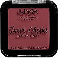 NYX Professional Makeup Sweet Cheeks Creamy Powder Blush Matte - Bang Bang