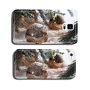 Winter decorations for Xmas holidays seasons cell phone cover case iPhone6
