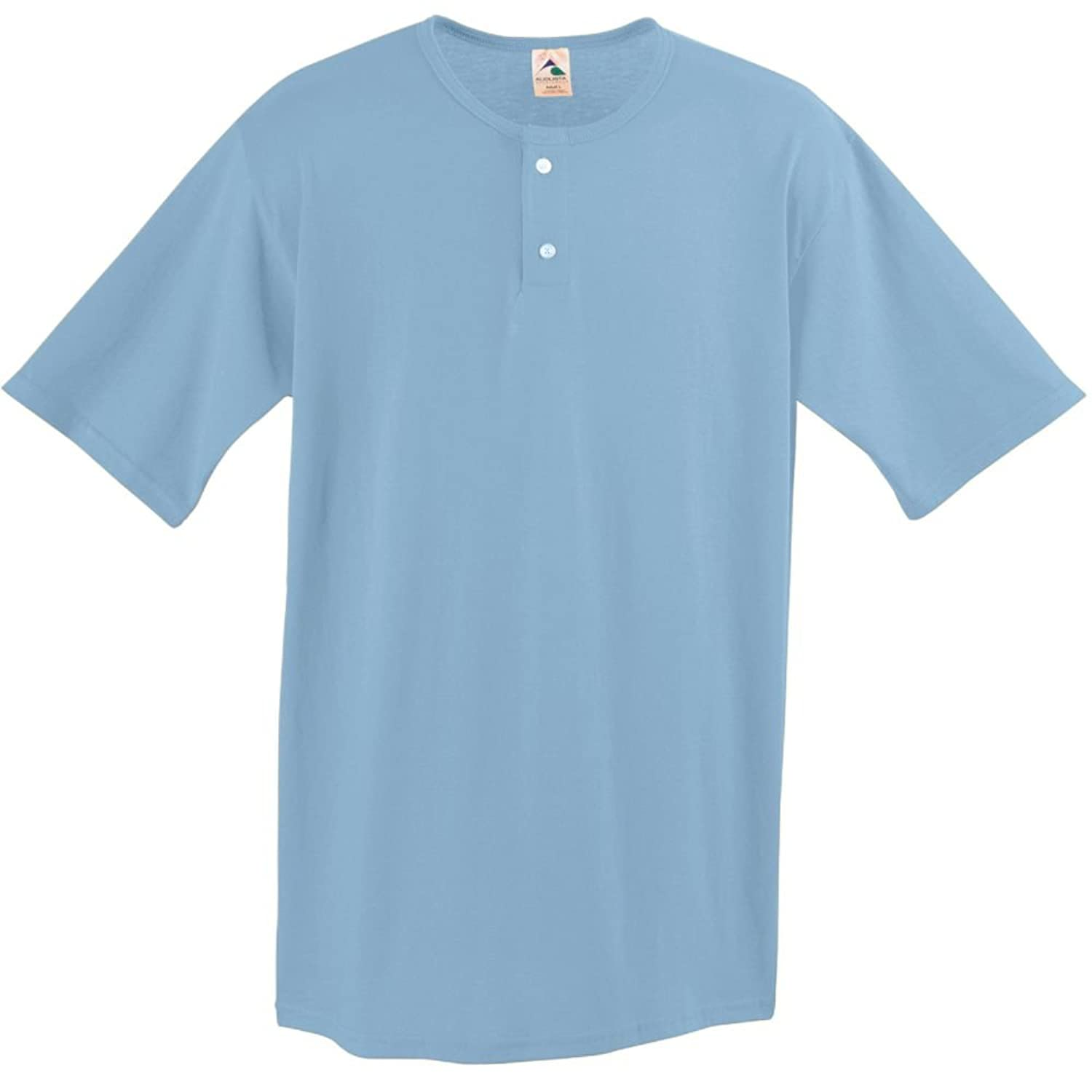 Augusta Sportswear Mens Two-Button Baseball Shirt