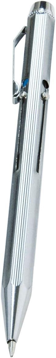 chrom WEDO 256 226 Vierfarb-Kugelschreiber mit Schiebemechanik 4003801037981