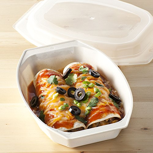 Nordic Ware Microwave Casserole Dish 28 Ounce with Cover