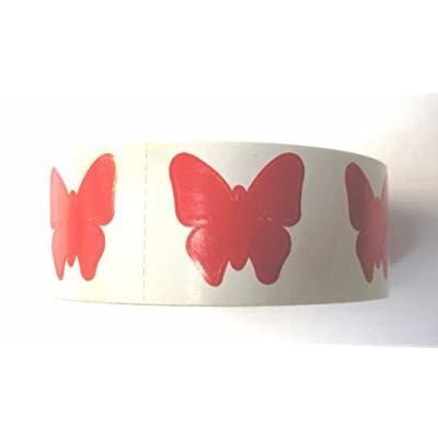 Tanning Bed Stickers Butterfly 1000 CT by Butterfly Stickers : Self Tanning Products : Beauty