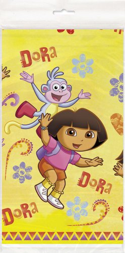 (Dora the Explorer Plastic Tablecloth, 84
