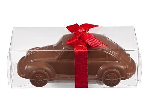 voiture coccinelle en chocolat