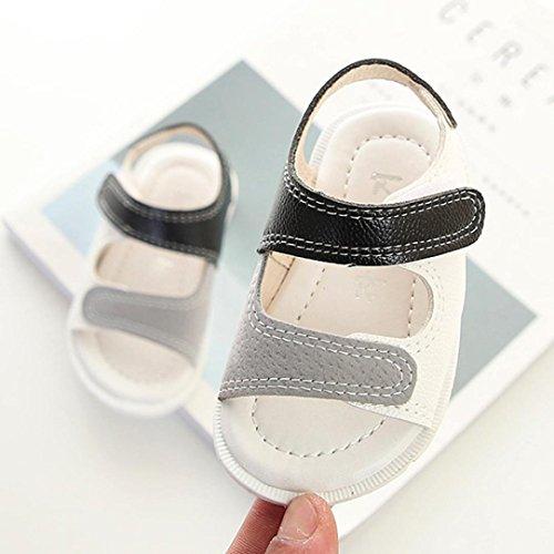 Prevently Junge Sandalen Jungen Weichen Unteren Kleinkind Sandalen Baby Jungen Strand Sandalen Sneaker Kleinkind Kinder Patchwork Casual Single Schuhe Weiß