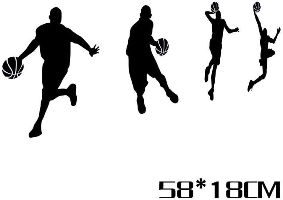 Aland Pegatina para Coche, diseño de Jugador de Baloncesto: Amazon ...