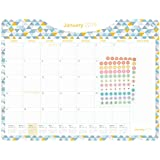 "Desk Calendar 2019-2020 · 18 Months · January 2019 - June 2020 · 22"" x 17"" · Large Desk Pad Planner · Academic (Geometric)"