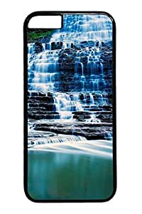Albion Falls Ontario Canada Custom iphone 6 plus 5.5inch Case Cover Polycarbonate black