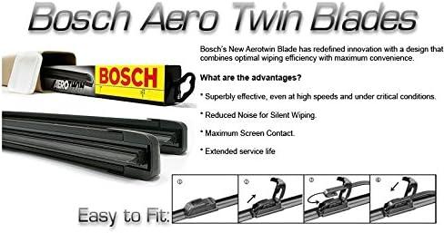 Bosch Aero Aerotwin Flat Retro Windscreen Wiper Blades L200 MK4 10-
