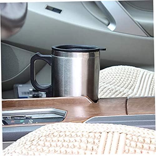 Silverfer Voiture Chauffage Tasse Auto 12v Tasse de Chauffage Bouilloire /Électrique Voitures Thermique Tasses Chauffe Eau Bouillie Bottel Accessoires Auto 500 ML C/âble
