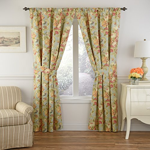 WAVERLY Spring Bling Window Curtain, 84x52, Vapor ()