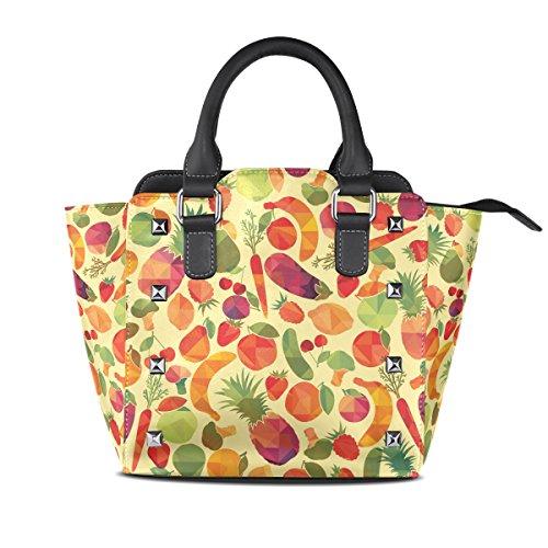 AURELIOR bolsos del hombro para mujeres Multicolor