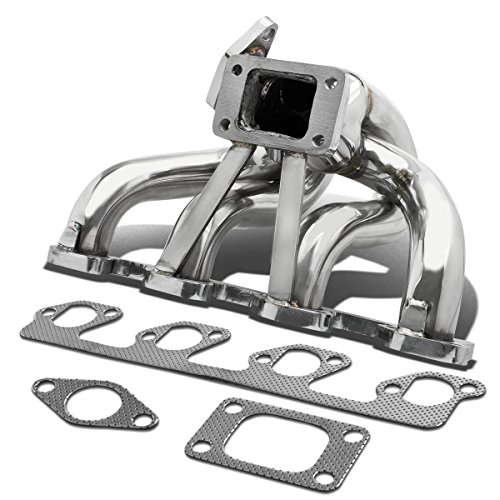 For Ford Focus/Mazda B2300 Stainless Steel T3 Turbo Manifold with 35mm/38mm Wastegate (Ford Focus Header)