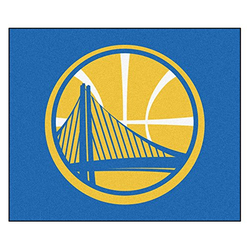 FANMATS 19441 NBA - Golden State Warriors Tailgater Rug , Team Color, 59.5''x71'' by Fanmats