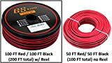 True 22 Gauge (American Wire Ga) 99.9% OFC stranded oxygen free copper, Red / Black 2 Conductor Bonded Zip Cord Power / Speaker Cable for Car Audio, Home Theater, LED Light. Choices of 50 or 100 FT