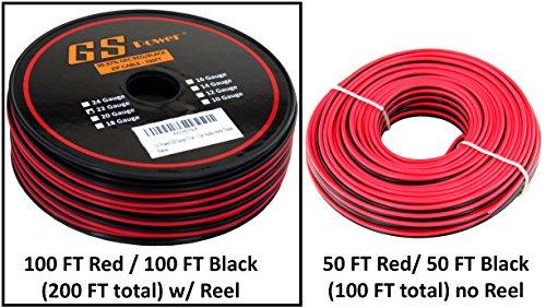 True 22 Gauge  99.9% OFC stranded oxygen free copper, Red /