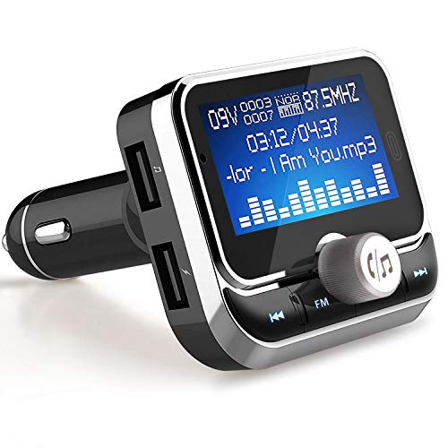 Bluetooth FM Transmitter, LeeQin Wireless Audio MP3 Player R