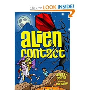 Alien Contact (Alien Agent) Pamela F. Service and Mike Gorman
