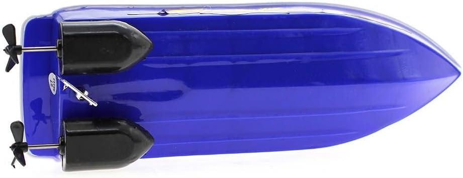 VANKER Los niños de plástico Mini barco teledirigido Juguetes eléctricos Modelo del velero
