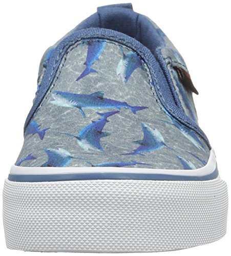 Vans YT Asher, Zapatillas Para Niños Azul (Sharks)
