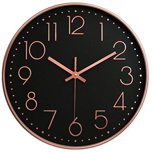 12 universal silent wall clock