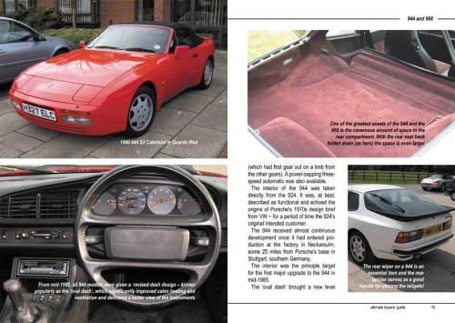 Porsche 944 and 968 1981-1995: Ultimate Buyers Guide: Amazon.es: Peter Morgan: Libros en idiomas extranjeros