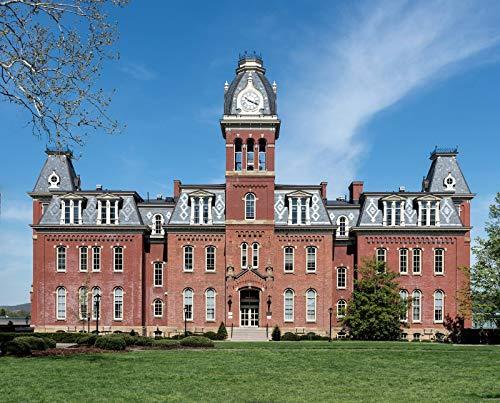 Morgantown, WV - Photo - Woodburn Hall, first known as University Hall.- Highsmith