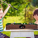 Mini Tabletop Pool Set- Billiards Game Includes