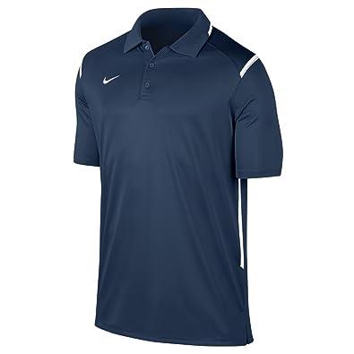 84aed67e0 Nike New Men's Team Gameday Polo Shirt TM Navy/TM White/TM White Small