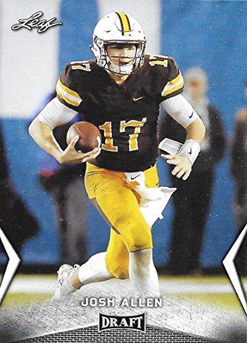 2018 Leaf Draft #31 Josh Allen Wyoming Cowboys Football Card