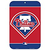 MLB Philadelphia Phillies Logo Sign, 11 x 17-inches