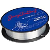 JIANGTAIGONG Monofilament Fishing Line,Superior Mono Nylon Fish Line Great Substitute for Fluorocarbon Fishs Line, 100 Meters Abrasion Resistant Fly Fishing Line for Freshwater(Clear)