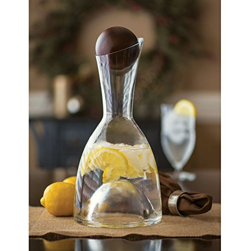 Shannon Crystal 64 Ounce Carafe Stopper