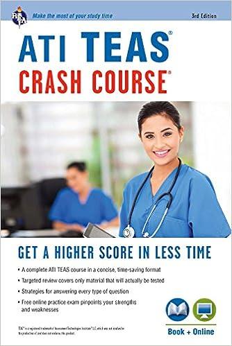 ATI TEAS Crash Course® Book + Online (Nursing Test Prep) - Kindle