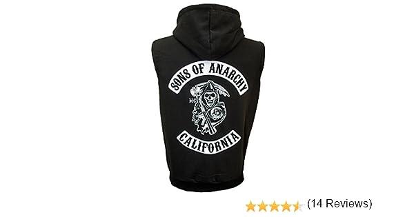 Sons Of Anarchy – Sudadera con capucha sin mangas - Jax Teller Opie Samcro: Amazon.es: Ropa y accesorios