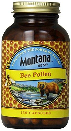 Montana Big Sky Bee Pollen Capsules, 150 Count For Sale