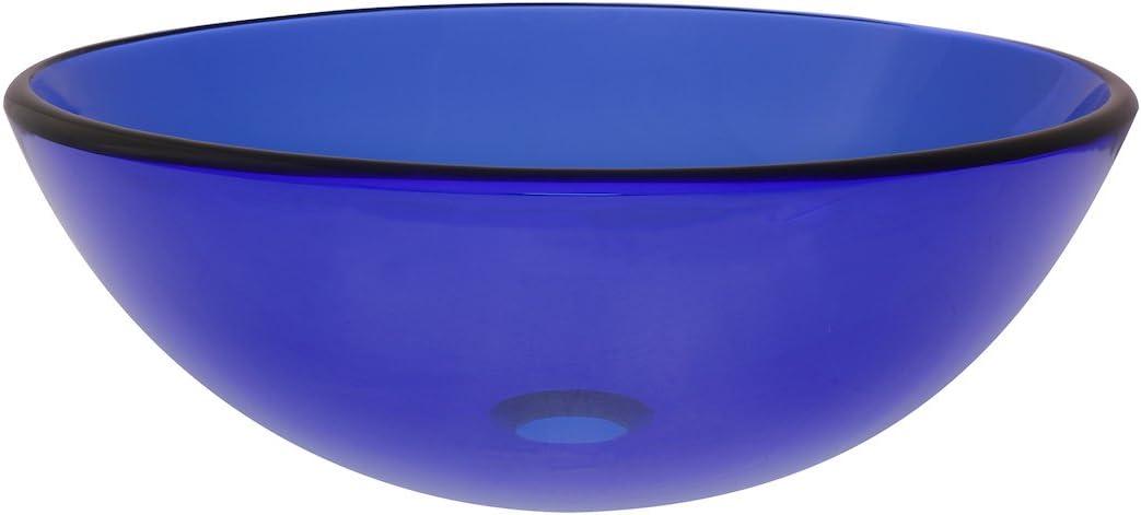 Novatto BLU Glass Vessel Bathroom Sink