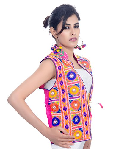 Banjara-India-Kutchi-Waist-Length-Jacket-Bharchak