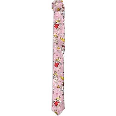 Warm Night Corbata floral estampada para hombres, hadas tocando ...