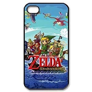 iPhone 4 / iPhone 4s TPU Gel Skin / Cover, Custom TPU iPhone 4g Back Case - The Legend Of Zelda hjbrhga1544