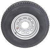 2-Pack TowMax Trailer Tires & Rims ST235/85R16E 3640# 16X6 8-6.5 Modular Silver