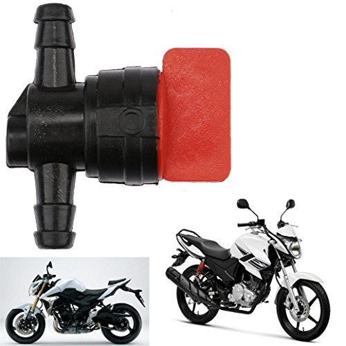 Aprilia Scooter - Ecosin Universal Fuel Tap Scooter Moped Motorcycle for 6mm Gasoline Hose Switch For Vespa kreidler Hercules Aprilia Kymco