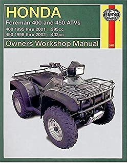 honda atvs foreman and rubicon 95 to 11 haynes service repair rh amazon com 1998 honda foreman 400 service manual pdf 1997 honda foreman 400 service manual free download
