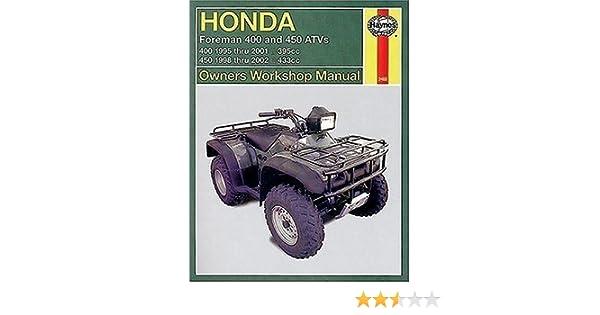 450 Haynes M2465 Repair Manual for Honda Foreman 400 500